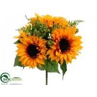 silk sunflowers silk sunflowers faux sunflowers artificial sunflower stems
