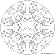 7 images of heart mandala coloring pages printable heart mandala