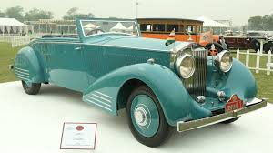 rolls royce vintage convertible the cars maharajas drive gq india