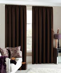 Brown Curtains For Living Room Fionaandersenphotographycom - Living room curtain design ideas
