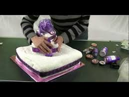 towel cakes how to make a towel cake gift ideas and centerpieces