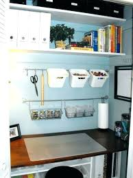 Closet Office Desk Small Closet Office Atken Me