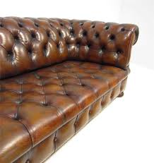 Chesterfield Sofa Ebay by A Good Large Long Antique Style Deep Seated Tan Brown Chesterfield