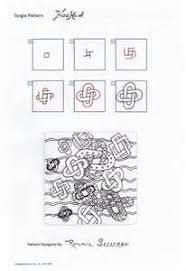 zentangle pattern trio a trio of new tangles for the new year tangled zentangles and doodles