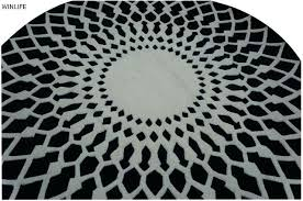 Black And White Modern Rug Black And White Rug Tapinfluence Co