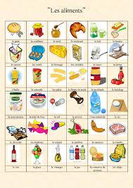 vocabulaire de cuisine vocabulaire des aliments de la nourriture et de la cuisine