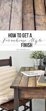 how to get a farmhouse style finish raw wood farmhouse style