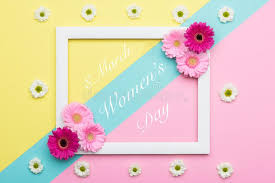 candy s day card happy women s day pastel candy coloured background floral womens