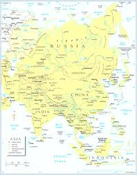 Asia Continent Map by Map Of Asia Adorable Map Asian Continent Evenakliyat Biz