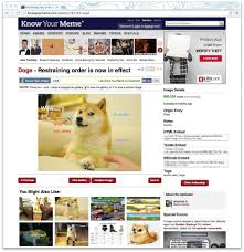 Know Your Meme Doge - how memes have developed strict design rules sfgate