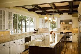 10 Beautiful Kitchens With Glass Cabinets 24 Beautiful Granite Countertop Kitchen Ideas Page 3 Of 5