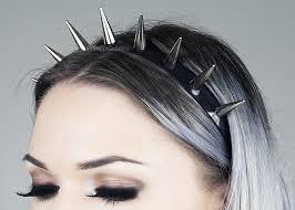 spiked headband silver spiked headband headband crown