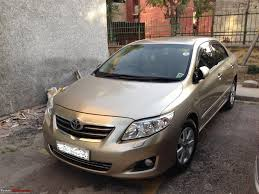 cost of toyota corolla in india toyota corolla altis 1 8 at 4 5 years 51000 kms running well