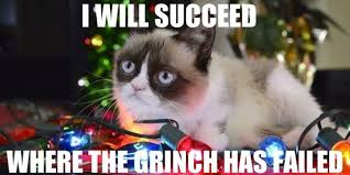 Grumpy Cat Meme Christmas - hope you re planning a very grumpy christmas i can has cheezburger