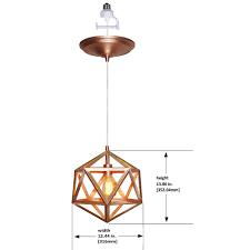 Convert Recessed Light To Pendant Instant Pendant Series 1 Light Rose Gold Recessed Light Conversion