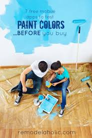free diy mobile apps to test paint colors using your room photos