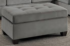 Taupe Ottoman Homelegance Emilio Taupe Ottoman Emilio Collection