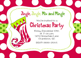 sample of christmas party invitation home decorating interior