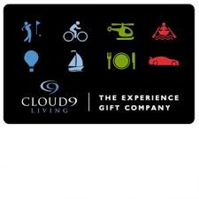 gift cards experience gift certificates unique gift cards for activities
