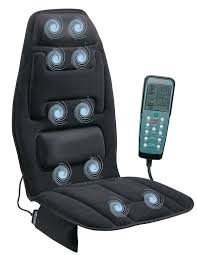Cargo Furniture Cushion Covers Amazon Com Relaxzen 60 2910 10 Motor Massage Seat Cushion With