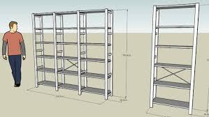ivar ikea real size ikea ivar shelving unit 3d warehouse