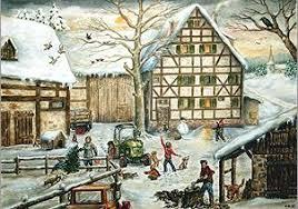german christmas advent calendars greeting cards my growing