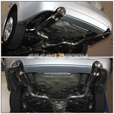 nissan altima for sale lebanon dual 4 u0026 034 muffler tip stainless catback exhaust for 07 12