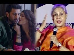Jaya Bachchan Hot Pics - jaya bachchan angry on aishwarya rai s hot scene with ranbir