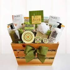 spa basket buy delightful garden spa basket spa gift baskets for him parents