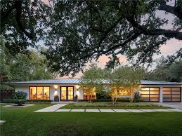 Contemporary Ranch Homes by Mid Century Modern Home Exterior With Concept Inspiration 33747