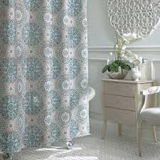 Teal Bathroom Pictures by Bathroom Teal Fabric Shower Curtain Sea Shower Curtain Leopard
