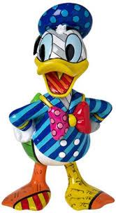 amazon disney britto donald duck stone resin figurine