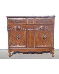 holiday special french provincial broyhill cabinet buffet console