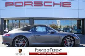 porsche 911 s convertible 2018 porsche 911 s cabriolet convertible in fremont
