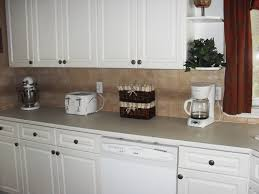 kitchen backsplash ideas for white cabinets white cabinet and