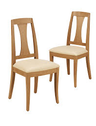 Dining Chairs 2 Burchill Leather Dining Chairs M U0026s