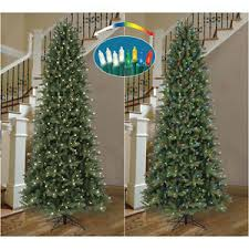 ge 9 ft pre lit frasier fir artificial tree color