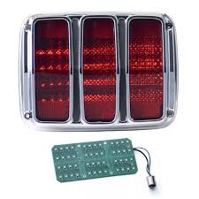 dakota digital led tail lights 1964 1966 mustang led tail lights dakota digital lat nr350