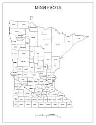 Map Of Usa Black And White by Minnesota State Maps Usa Maps Of Minnesota Mn Minnesota State