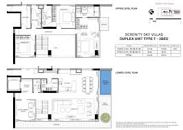 Duplex Layout Serenity Sky Villa U2013 45 Exclusive Sky Villas In District 3 Ho Chi