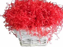 gift basket shredded paper coloured shredded tissue paper for gift baskets