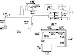 Sofa Lengths Sofa Dimensions In Feet