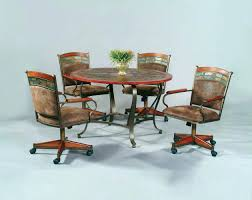 rolling dining room chairs exotic rolling dining chair excellent dining room furniture