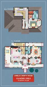 floor plans home these floor plans recreate your favorite tv homes apartment therapy