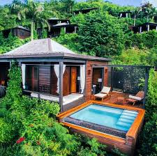 small house in tropical architecture small house in antigua barbuda pinteres