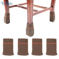couvre si e 16 pcs ensemble couches chaise jambe couvre épaissie à