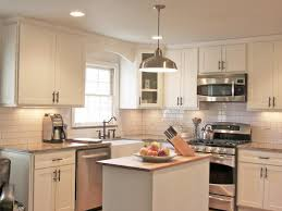 Dark Shaker Kitchen Cabinets Kitchen Cabinet Hardware Ideas Pictures Options Tips U0026 Ideas Hgtv