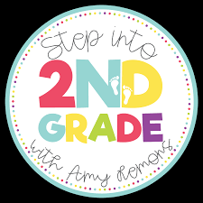 1st grade writing paper with picture box step into 2nd grade grab a button