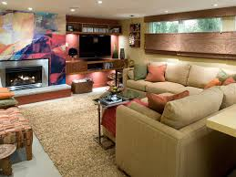 stylish finished basement design ideas models and 5000x3506