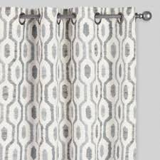 Black White Gray Curtains Curtains Drapes Window Treatments World Market